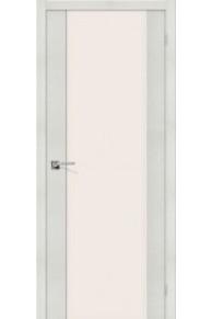 Межкомнатная дверь с экошпоном Порта-13 ПО Bianco Veralinga
