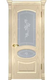 Межкомнатная дверь Грация (ДО слоновая кость)