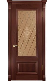 Межкомнатная дверьФараон-1 (ДО красное дерево)
