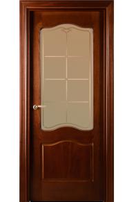 Межкомнатная дверь  VALDO  737 - 04.04 (ДО) Шпон красного дерева тонированный