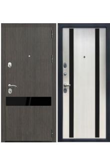 Входная металлическая дверь Зетта ПРЕМЬЕР 3 К2 кора белая