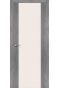 Межкомнатная дверь с экошпоном Порта-13 ПО Grey Veralinga