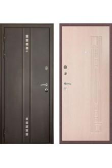 Входная металлическая дверь Федор Квадро 3К Модерн -Белёный дуб