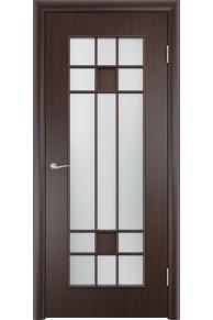 Межкомнатная дверьТип С-15 венге «Сатинато»