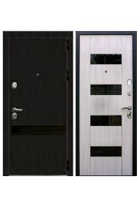 Входная металлическая дверь Зетта ПРЕМЬЕР 3 К2 дуб белёный