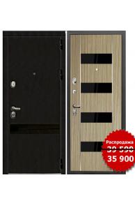 Входная металлическая дверь Зетта ПРЕМЬЕР 3 К2 дуб кантри