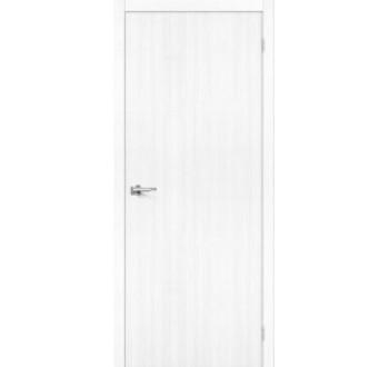 Межкомнатная дверь с экошпоном Тренд-0 Snow Veralinga