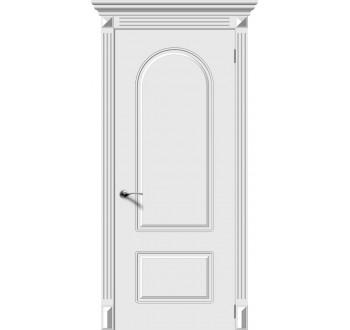 Межкомнатная дверь Менуэт глухая эмаль