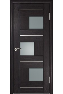 Межкомнатная дверь ЛУ-11 (венге)