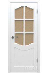 Межкомнатная дверь Классика эмаль белая ПО