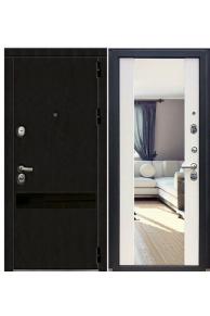 Входная металлическая дверь Зетта ПРЕМЬЕР 3 КБ1 Венге белый