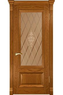 Межкомнатная дверь Фараон-1 (ДО дуб золотистый)
