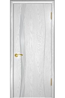 Межкомнатная дверь Аква-1 (дуб белая эмаль)