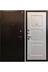 Входная металлическая дверь Ратибор Трио Лиственница беж