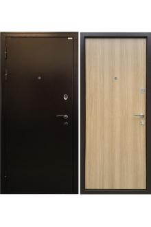 Входная металлическая дверь Ратибор Форт Дуб честерфилд