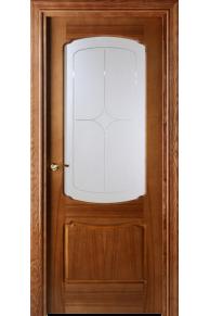 Межкомнатная дверь  VALDO  750 - 12.01 (ДО) Шпон итальянский орех