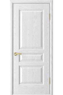 Межкомнатная дверь Атлант-2 (ясень белая эмаль дг)