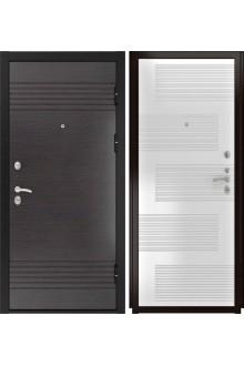 Входная металлическая дверь Luxor-7 (ПВХ белая эмаль)