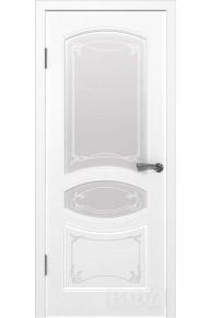 Межкомнатная дверь Версаль эмаль белая ПО