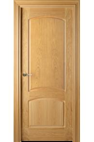 Межкомнатная дверь  VALDO 757 00.03 - Шпон американского белого дуба тонированный (темный дуб)