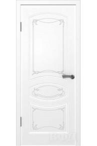 Межкомнатная дверь Версаль эмаль белая глухая