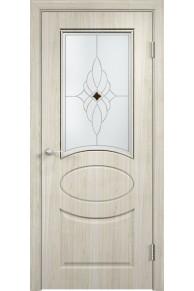 Межкомнатная дверь Гера беленый дуб мелинга