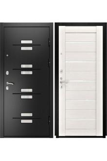 Входная металлическая дверь Люксор 13 (ЛУ-22 белый дуб)