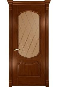 Межкомнатная дверь Венеция (ДО Дуб сандал)