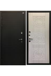 Входная металлическая дверь Ратибор Спарта белый жемчуг