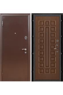 Входная металлическая дверь Феникс орех стандарт