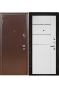Входная металлическая дверь Феникс МД 002 белый ясень