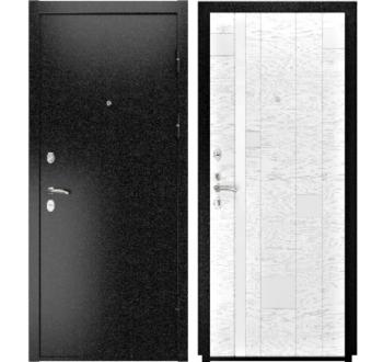 Входная  металлическая дверь Luxor-3b ( АРТ-1 ясень белый эмаль)