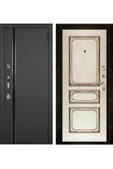 Уличная входная дверь с терморазрывом Норд  Муар искра Классика-5 эмаль.
