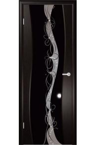 Камелия 2 триплекс стекло широкое венге.
