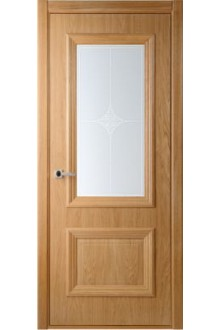 Межкомнатная дверь Франческо дуб стекло