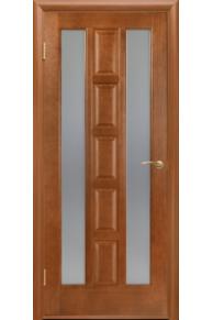 Межкомнатная дверь Квадро 2 стекло.
