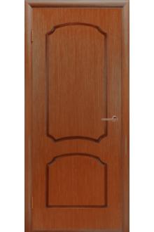 Межкомнатная дверь Виктория орех Глухая.