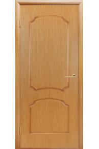 Межкомнатная дверь Виктория светлый дуб глухая.