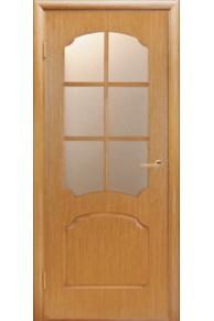 Межкомнатная дверь Виктория светлый дуб.