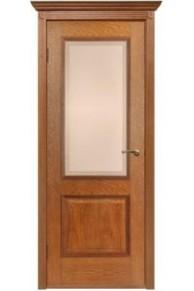 Межкомнатная дверь Гранд  орех стекло