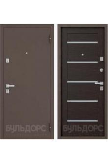Входная металлическая дверь Бульдорс-13 P new царговое венге
