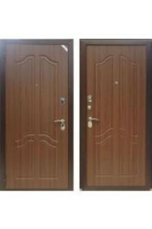 Входная металлическая  дверь Зетта Комфорт 3 Б1 тисненый орех
