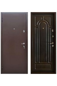 Дверь входная металлическая  Бульдорс 24 Z  венге Б-6