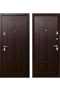 Дверь входная металлическая  Бульдорс 25 венге В-4