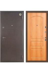 Дверь входная металлическая  Бульдорс 24 Z Лесной  орех в комплектации Б-1