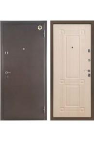 Дверь входная металлическая  Бульдорс 24   беленый дуб Б-5