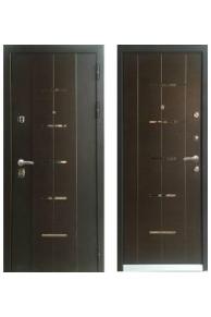 Входная  металлическая дверь Персона Технолюкс Венге.