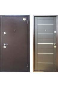 Дверь входная металлическая  Бульдорс 33 М венге темный