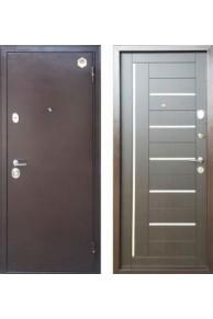 Дверь входная металлическая  Бульдорс 24 М венге темный.