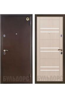 Стальная дверь Бульдорс 33М Дуб Беленый А-16